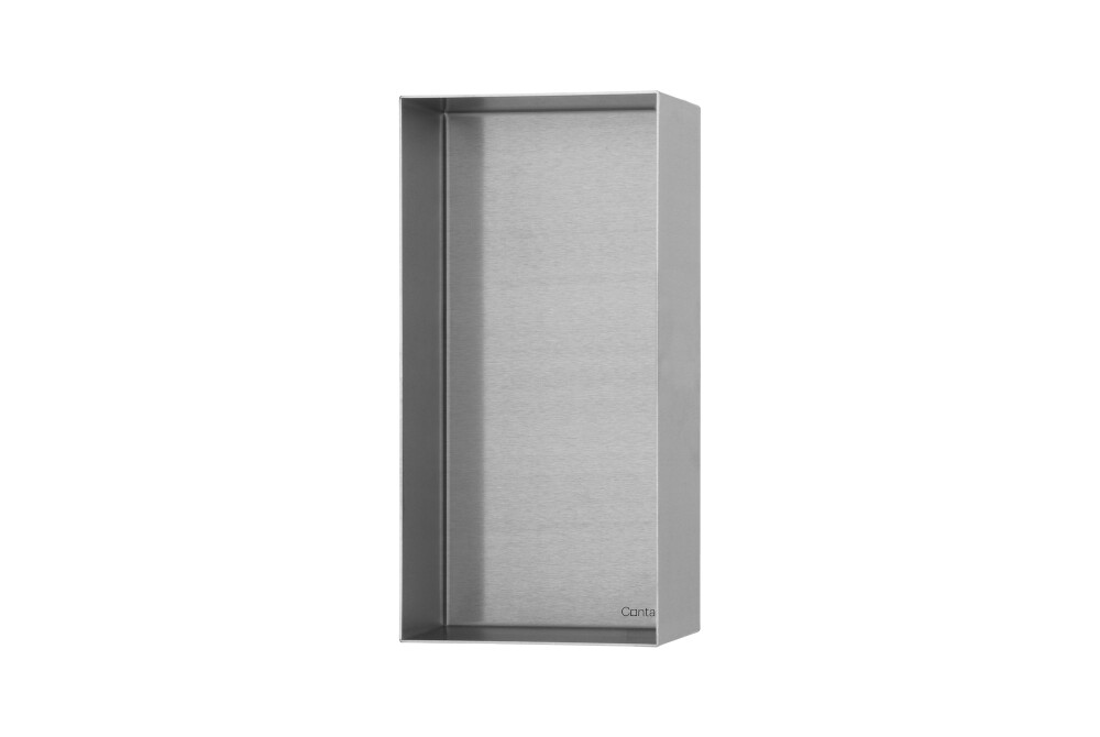 C-BOX (Brushed stainless steel)