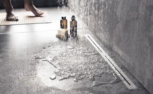 Caniveaux de douche
