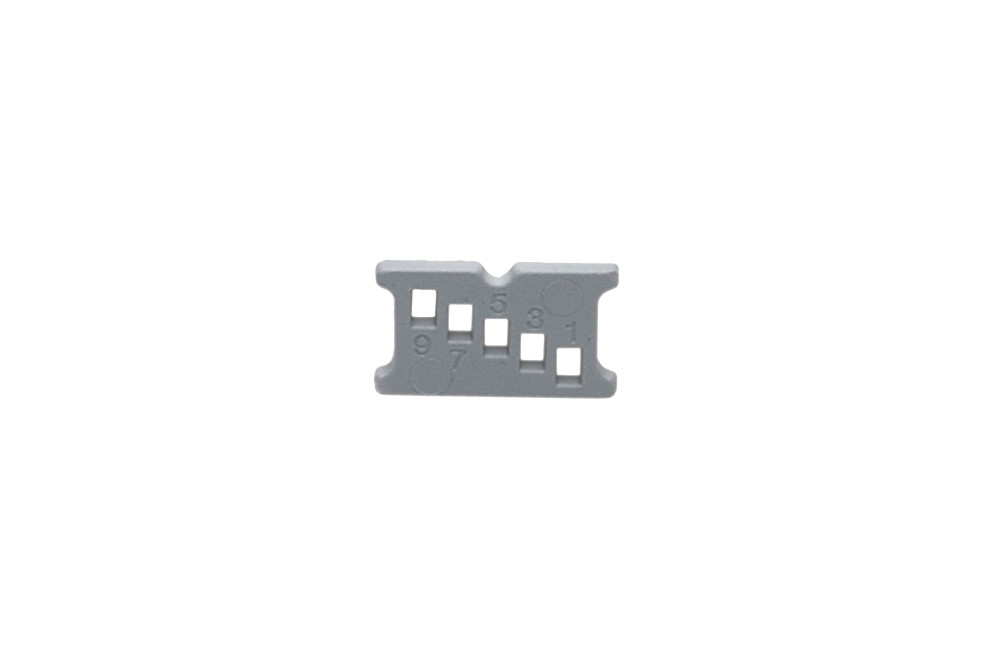 Height adjustement clips TAF frame (6 pcs.)