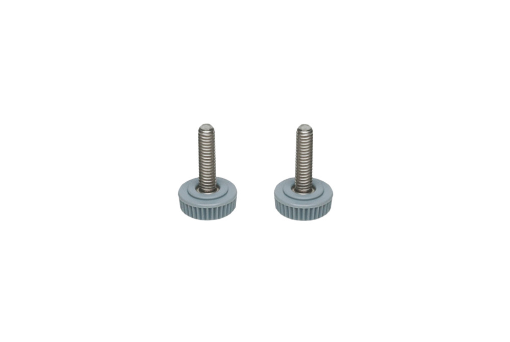 Adjustable screws set Xs grate
