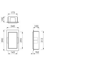 Container BOX10C 15x30x10