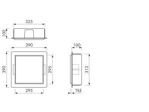 Container BOX10C 30x30x10