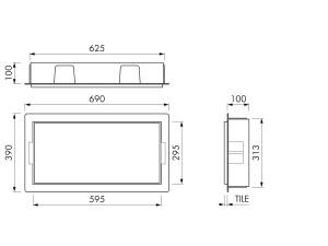 Container BOX10C 60x30x10