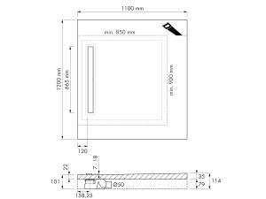 Easy Drain Modulo M2-50