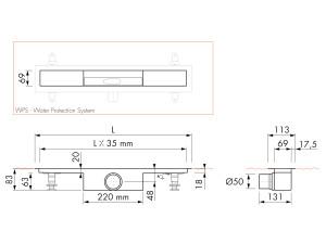 Easy Drain Modulo M1-50