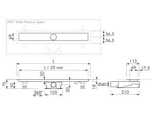Easy Drain Modulo M2-35