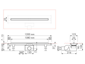 Easy Drain Flex M2-50