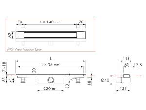 Easy Drain Modulo Design Z-2 M1-30