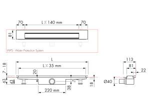 Easy Drain Modulo Design Z-3 M1-30