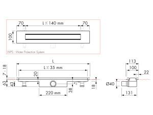 Easy Drain Modulo Design Z-4 M1-30