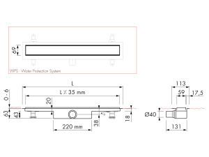 Easy Drain Modulo Stone M1-30