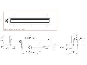 Easy Drain Modulo TAF High M1-30
