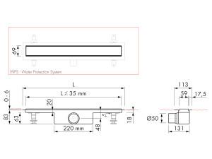Easy Drain Modulo Stone M1-50