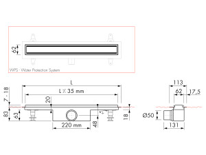 Easy Drain Modulo TAF M1-50