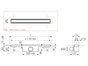 Easy Drain Modulo TAF High M1-50