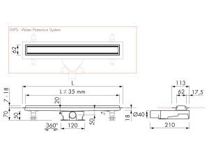 Easy Drain Modulo TAF M2-35