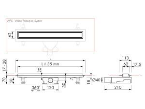 Easy Drain Modulo TAF High M2-35