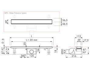 Easy Drain Modulo Stone M2-50