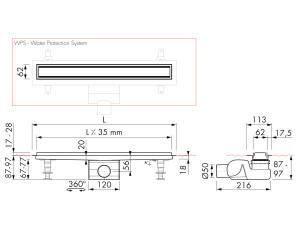 Easy Drain Modulo TAF High M2-50