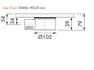 Easy Drain Siphon EDMSI WS30