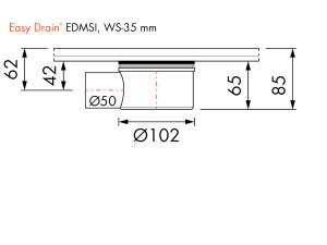 Easy Drain Siphon EDMSI WS35