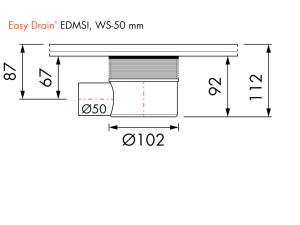 Easy Drain Siphon EDMSI WS50