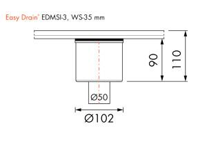 Easy Drain Siphon EDMSI 3 WS35