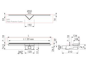 Easy Drain S-Line M2-35