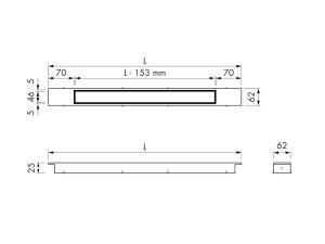 Easy Drain Modulo Design Z-2 Rost