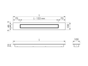 Easy Drain Modulo Design Z-4 Grate