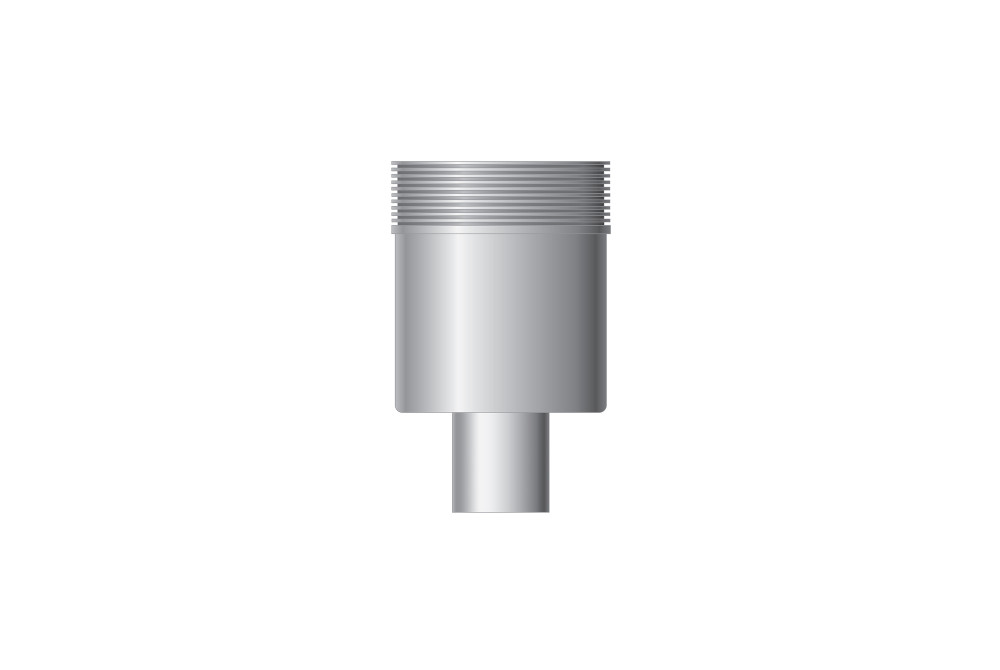 Vertical outlet, outlet 50 mm,
