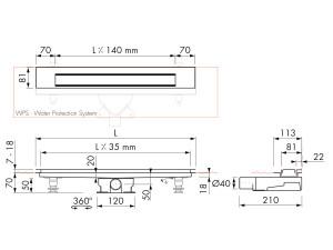 Easy Drain Modulo Design Z-3 M2-35