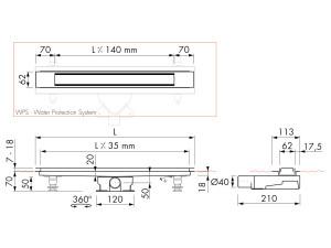 Easy Drain Modulo Design Z-2 M2-35