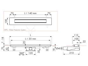 Easy Drain Modulo Design Z-4 M2-35