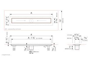 Easy Drain Modulo Stone EDM4 [USA]