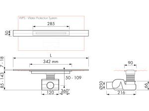 Easy Drain R line M2-50