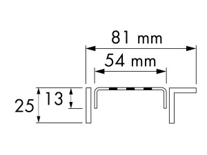 Easy Drain Modulo TAF Wall Classic