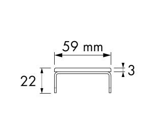 Easy Drain Modulo Basic Glass