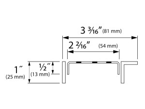 Easy Drain Modulo TAF Wall Classic USA