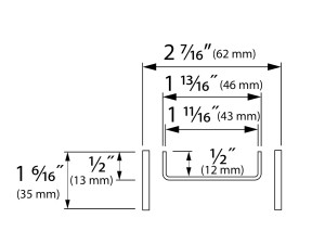 Easy Drain Modulo TAF High Tile USA