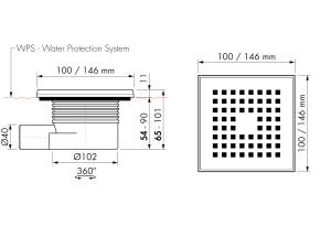 Easy Drain Aqua Quattro MSI6