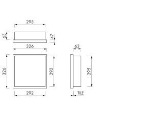 Container W-BOX 30x30x10