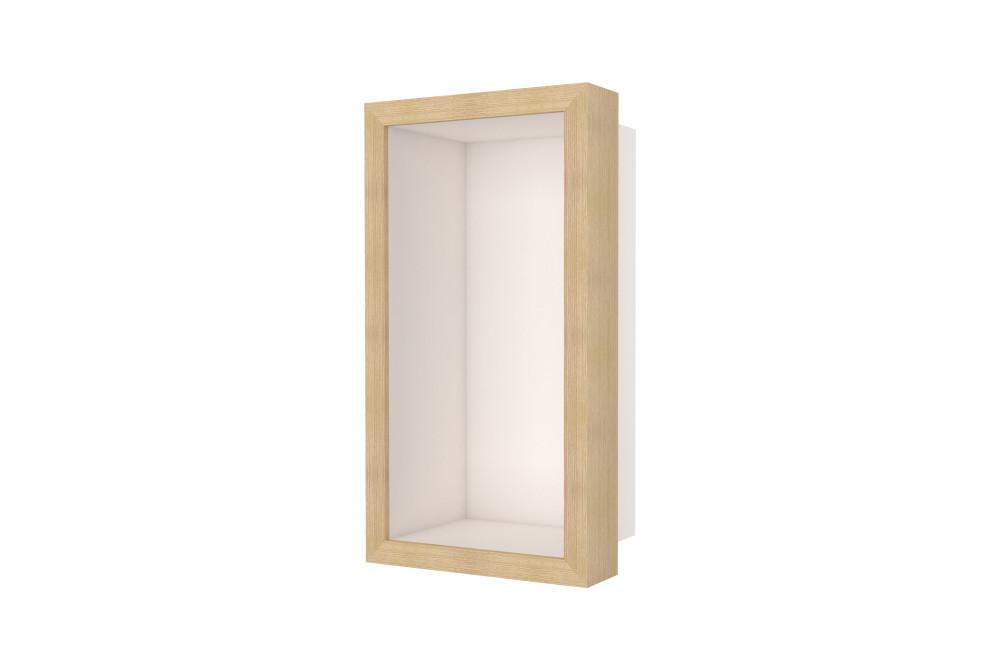 Container W-BOX (Creme   Oak – Natürlich Rahmen)