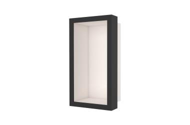 Container W-BOX (Creme | Oak – Ebenholz Rahmen)
