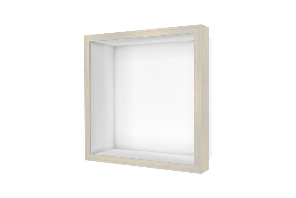 Container W-BOX (Weiß | Oak – Weisgewaschen Rahmen)