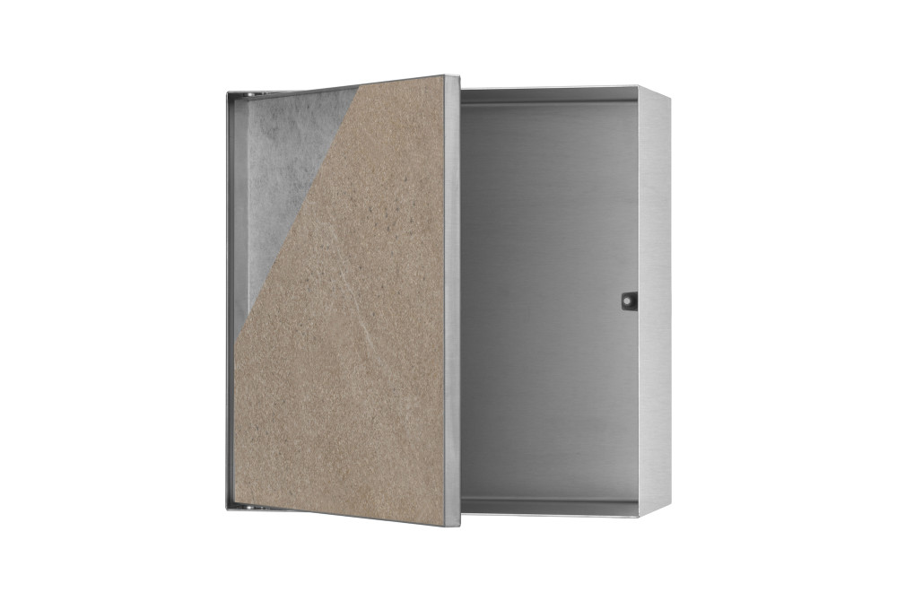 T-BOX (Brushed stainless steel)